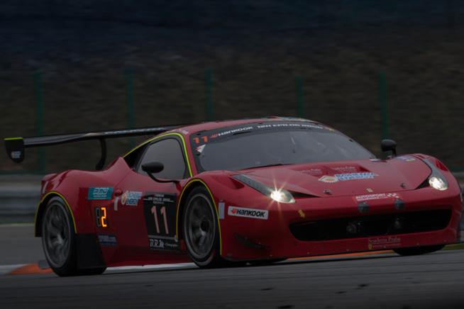Les vainqueurs roulaient en Ferrari
