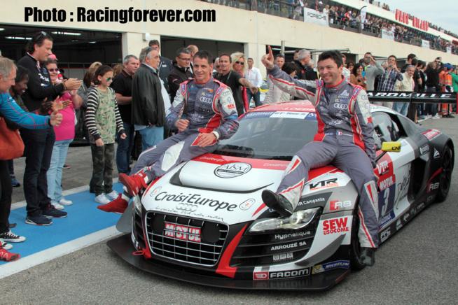 La victoire pour Parisy/Gaillard/Hallyday et le doublé pour Loeb Racing
