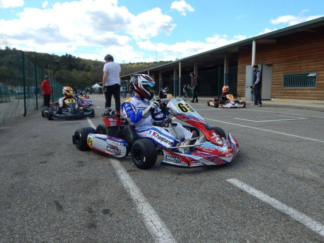 Karting Nationale : Top 10 à Ales pour Lorys Chastanet-Comiti