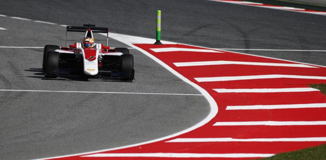 GP3 : Barcelone, course 1