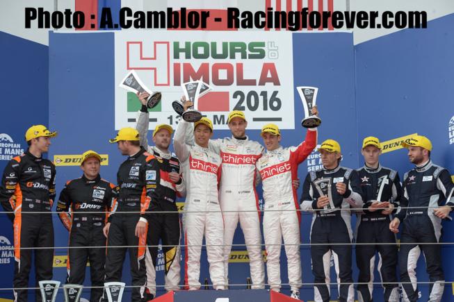 Le podium LMP2