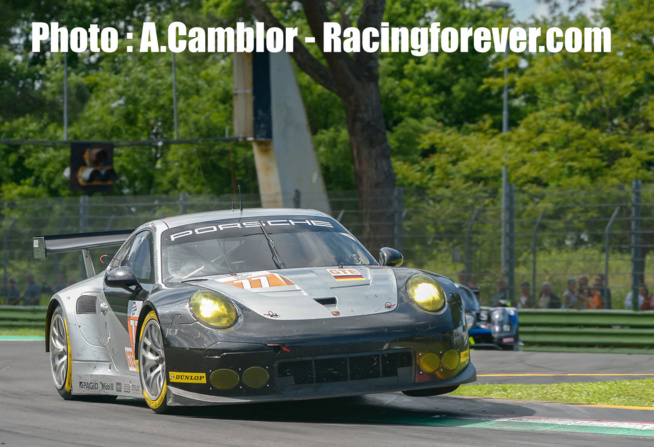 La Porsche #77 vainqueur en LMGTE