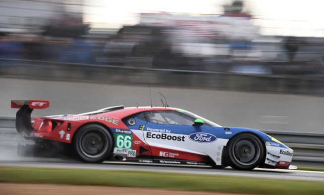 Ford en pole en GT pro (Photo Antoine Camblor)