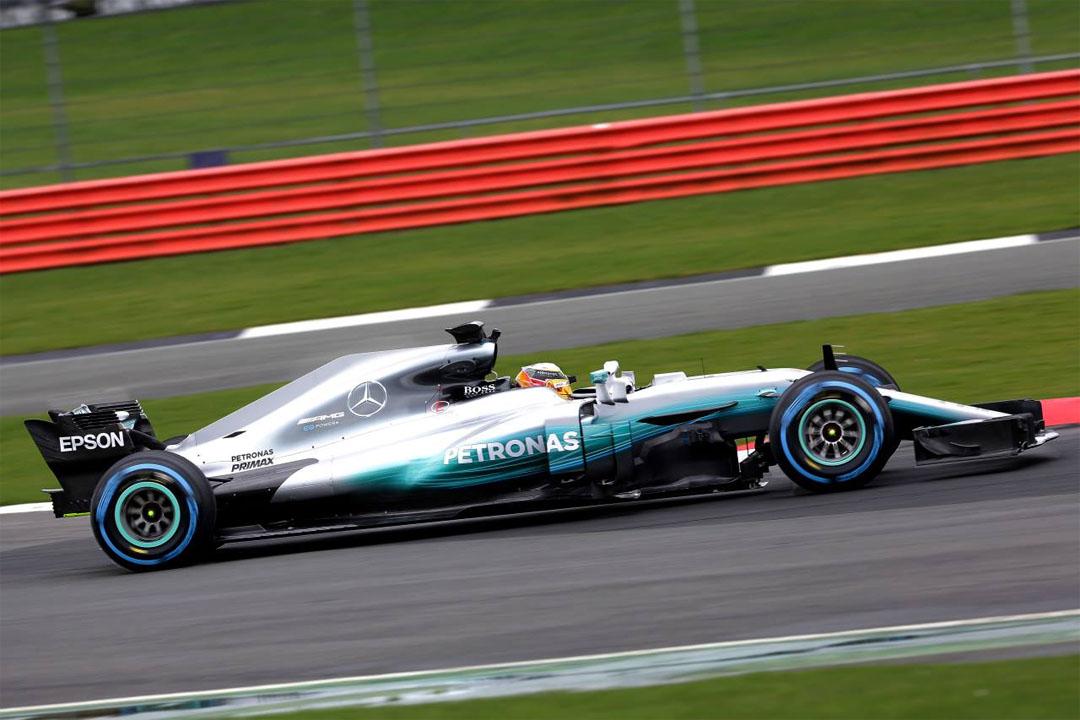 F1 : Mercedes présente la W08