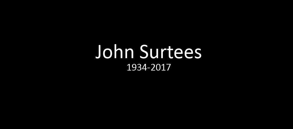 F1 : Décès de John Surtees à 83 ans