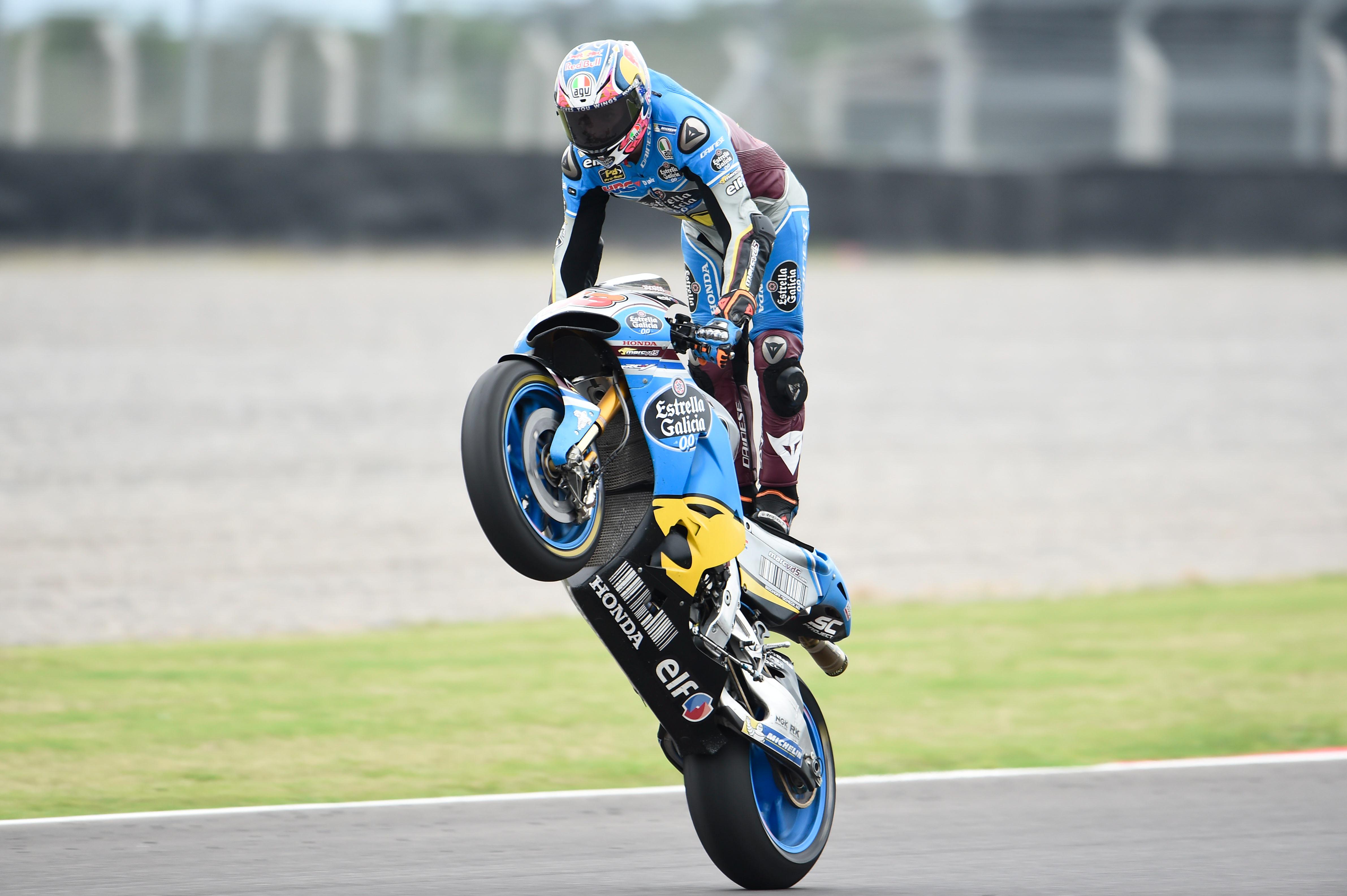 Moto 2 : Morbidelli voit double en Argentine