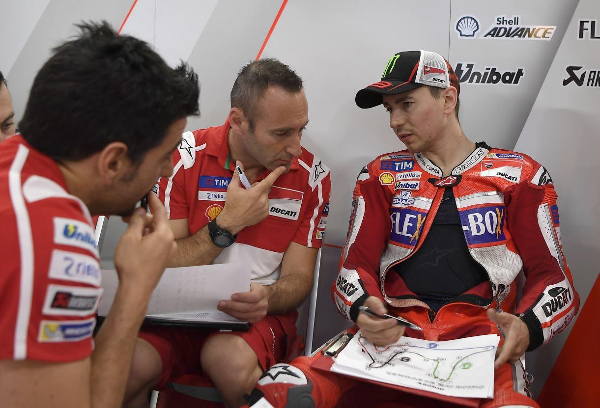 Beaucoup de travail encore chez Ducati