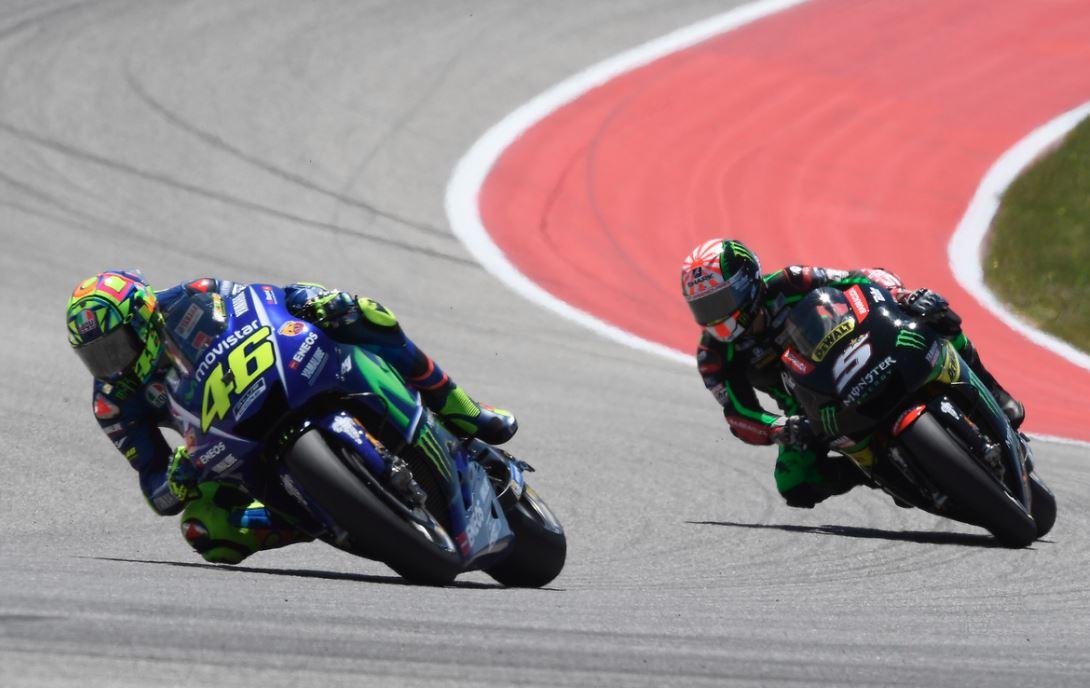 Rossi / Zarco, bagarre polémique en MotoGP (Photo Yamaha)