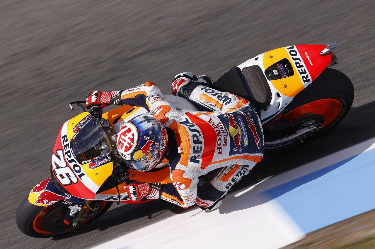 Dani Pedrosa a été intraitable à Jerez