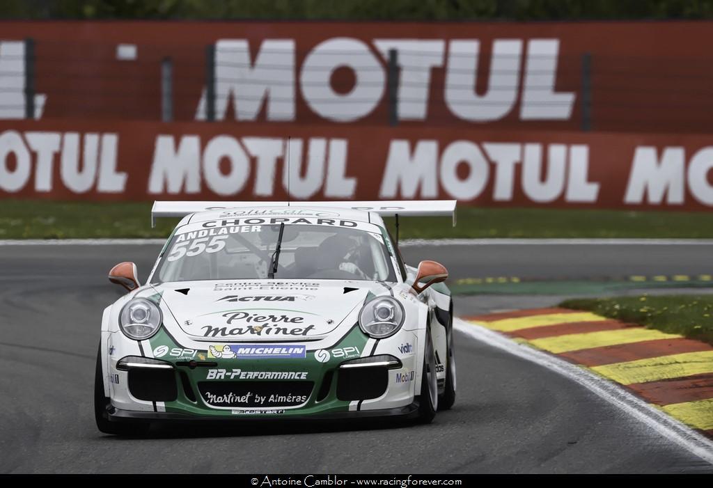 Porsche Carrera Cup : Ouverture de la saison à Spa