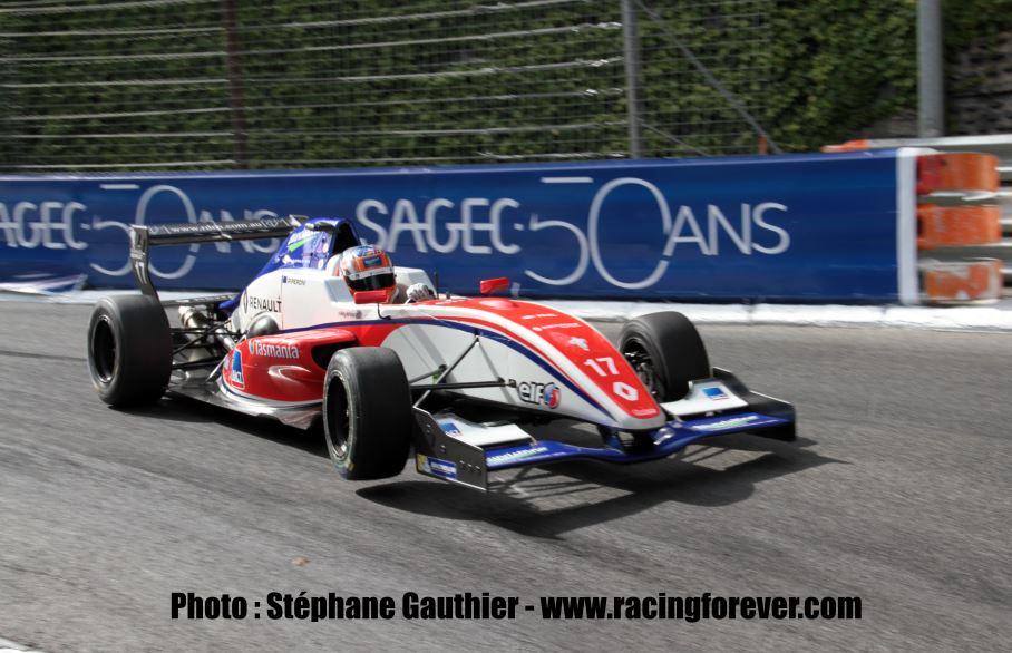 Peroni gagne la 2e course et remonte au classement
