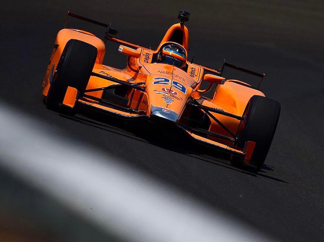 Fernando Alonso participant à Indy 500