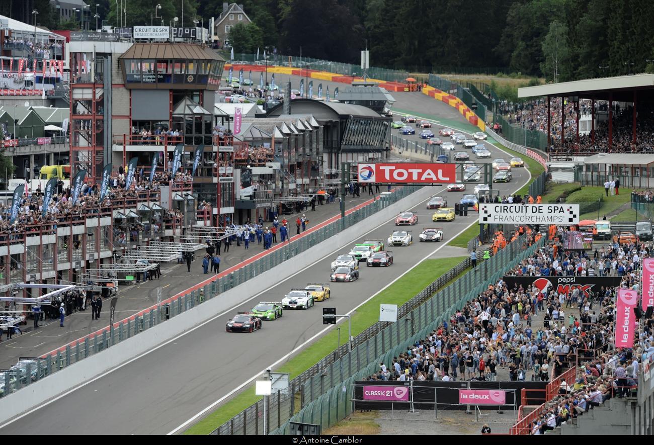 La grande épreuve du GT3 est en Belgique