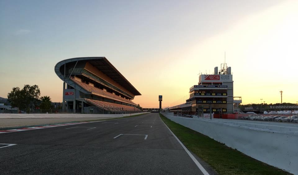 Le circuit de Barcelone (Photo : Drouet)