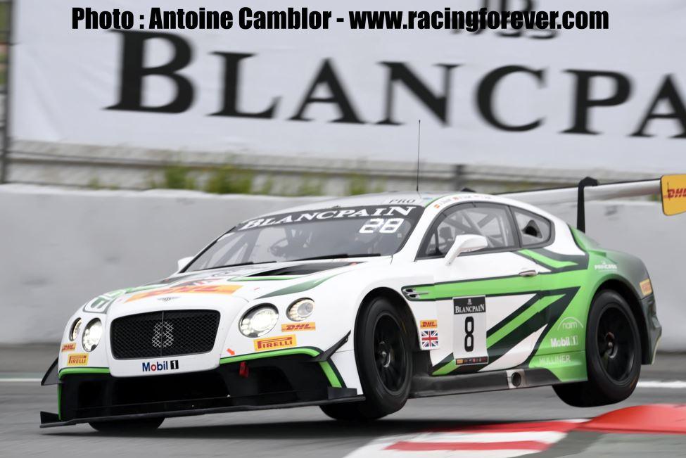 Bentley se console en Endurance Cup avec le titre Team