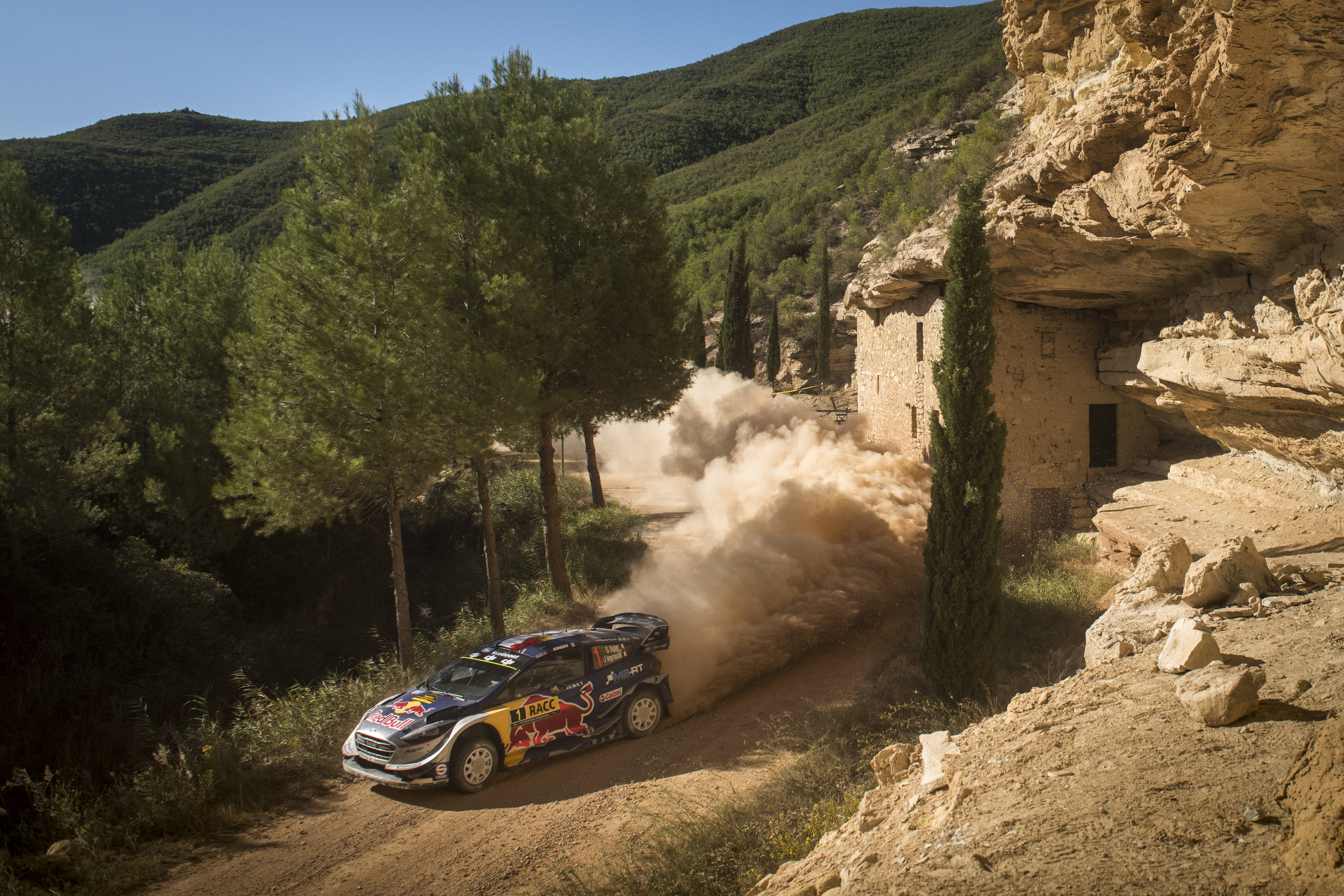 Ogier et Ingrassia ont fait le break en Catalogne (photo : Jaanus Ree/Red Bull Content Pool)