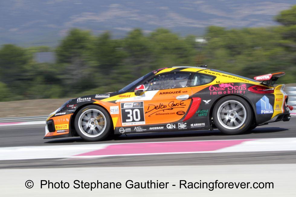 Parisy et Vannelet ont mené leur Porsche jusqu'au titre !
