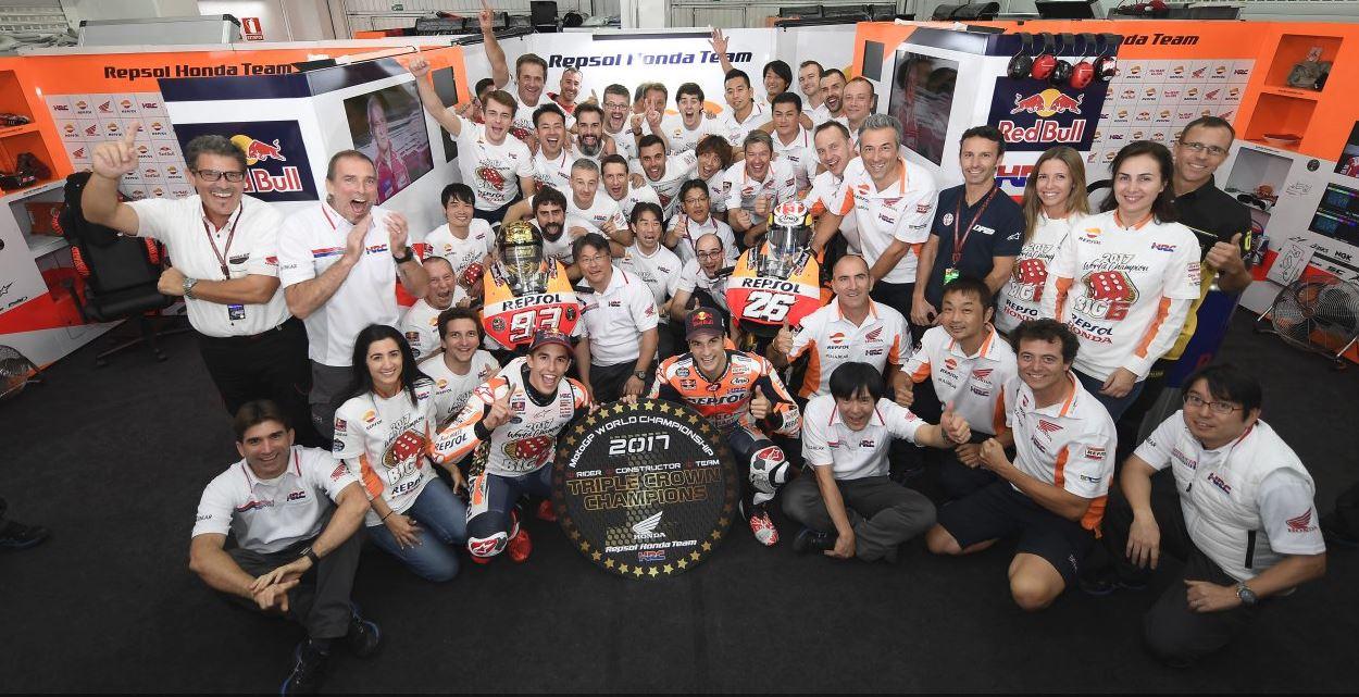 Honda a tout raflé ! (Photo Honda pro racing)
