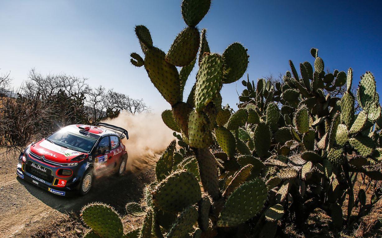 WRC : Les français brillent au Mexique