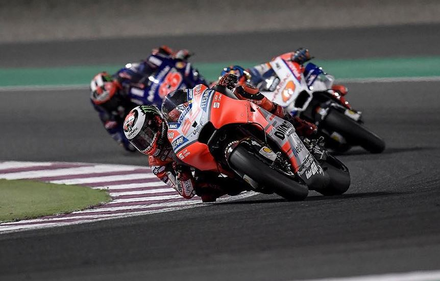 MotoGp : Grand prix du Qatar 2018