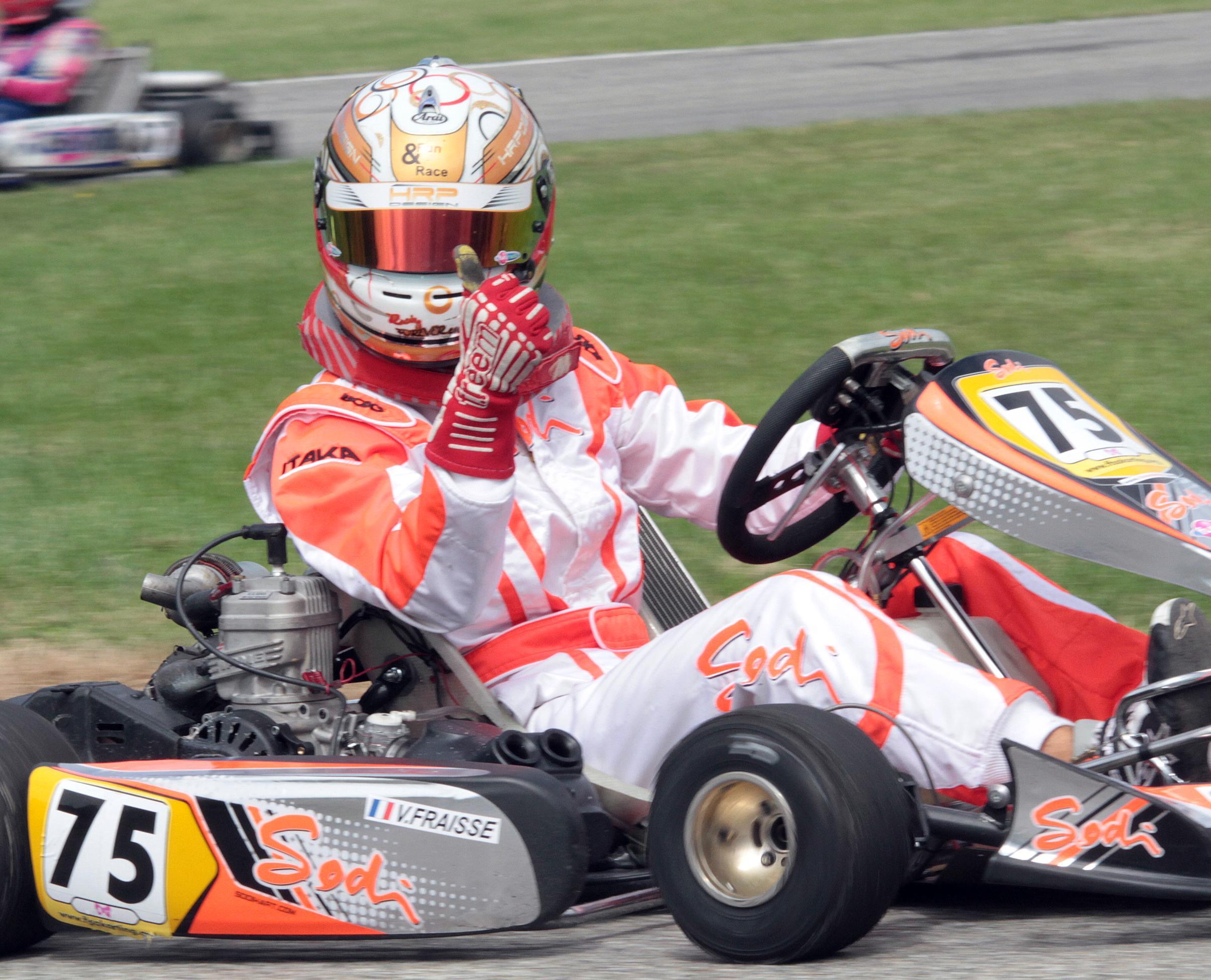 Vincent Fraisse champion Kart Challenge X30 2013