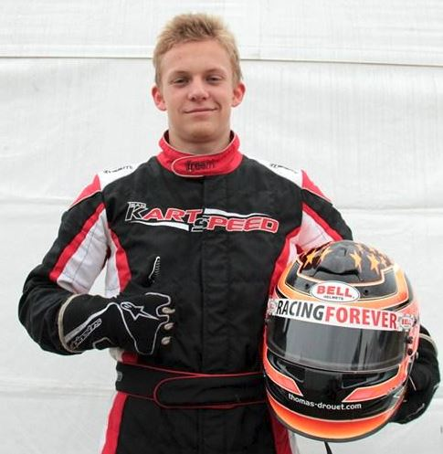 Thomas Drouet Champion Karting Midi-Pyrénées et du Sud catégorie National