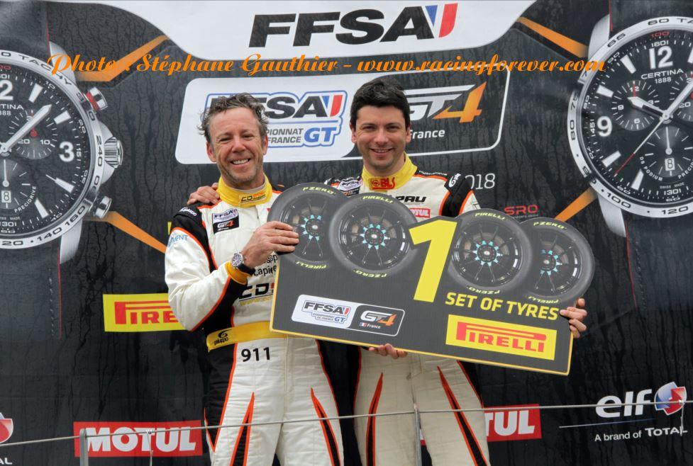 Seule satisfaction pour Parisy, Lapierre la victoire en Pirelli challenge