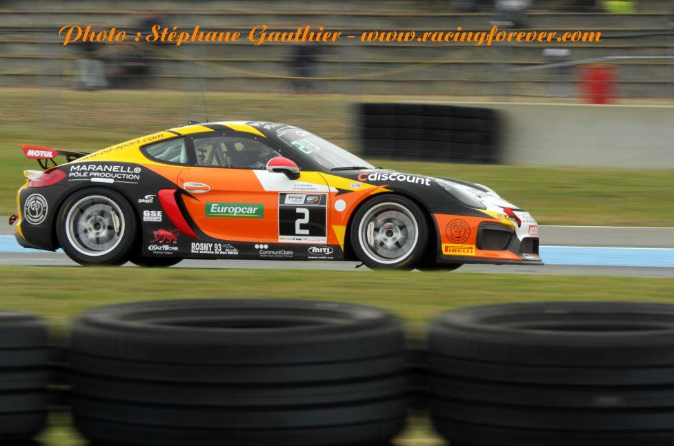Ce n'était pas le week-end des Porsche à Nogaro
