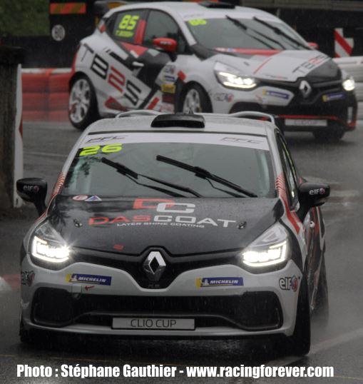 Première victoire pour Pierre Etienne Chaumat en Clio Cup