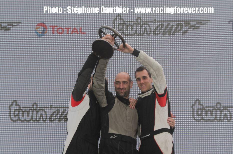 Un podium à domicile pour Nicolas (à droite)