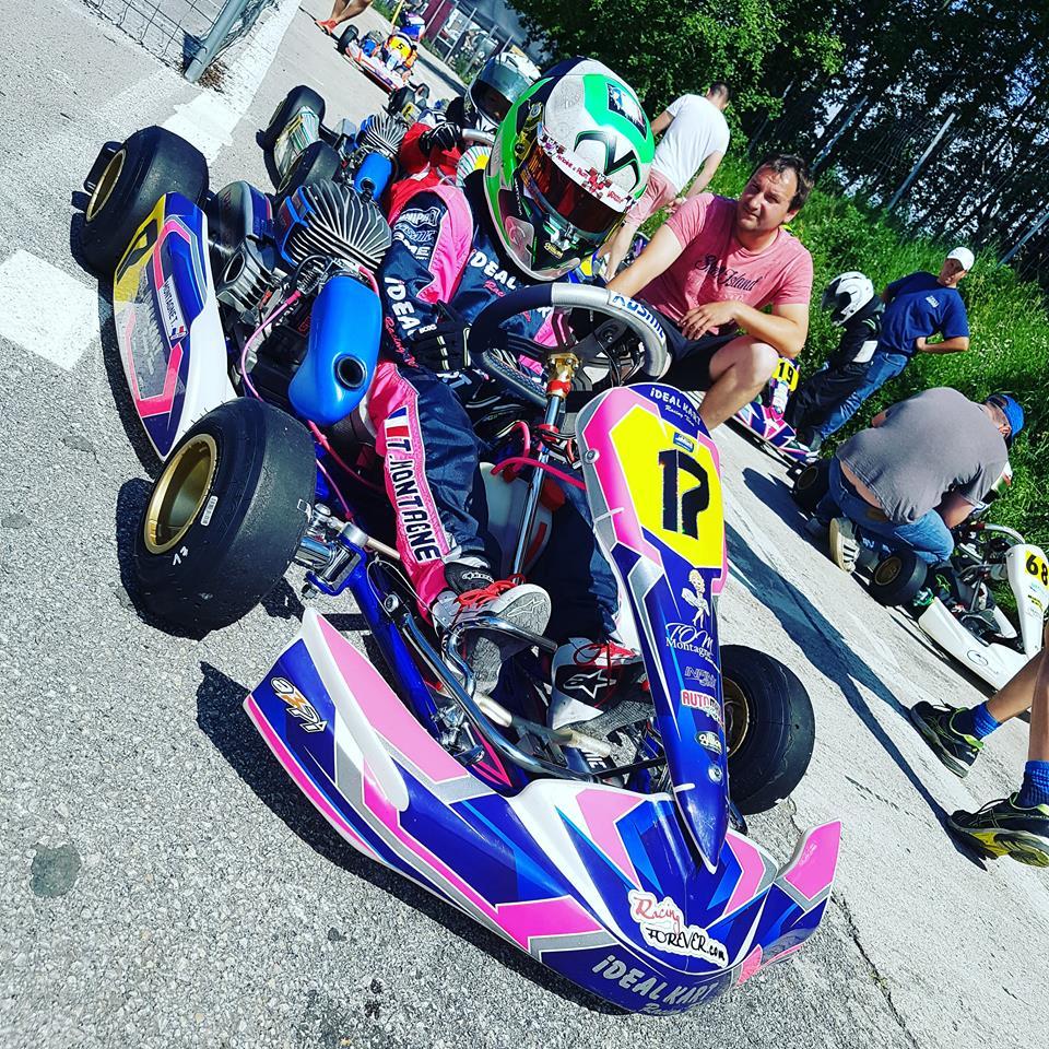 Karting : Premiers lauriers pour Tom Montagne