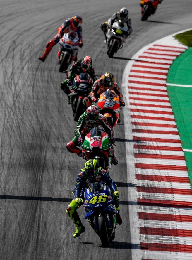 Yamaha ne s'impose plus en MotoGp (Photo Yamaha Motor Racing)