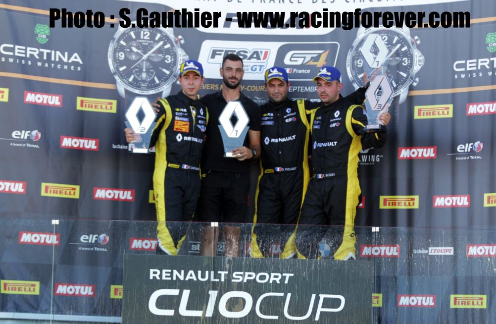 Clio Cup 2018 : Magny-Cours