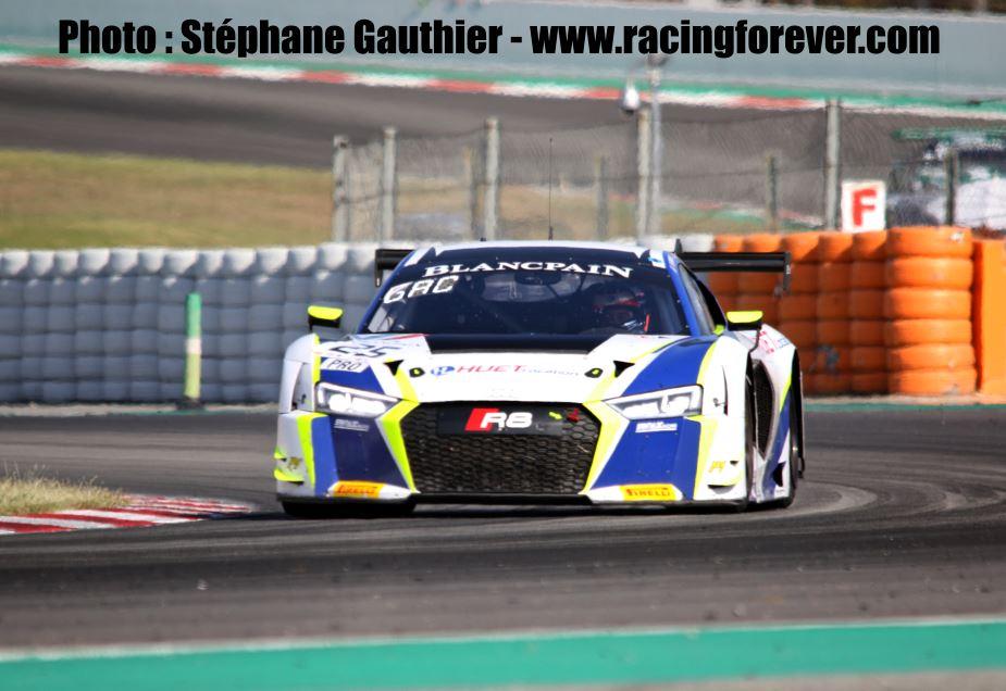 Blancpain GT Series : Simon Gachet très endurant