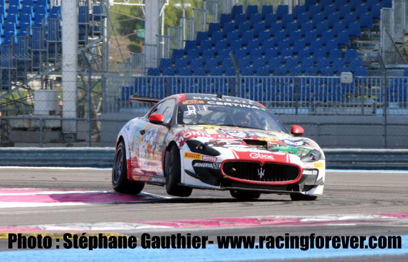 La Maserati Gran Turismo des frères Gomez marche fort en AM