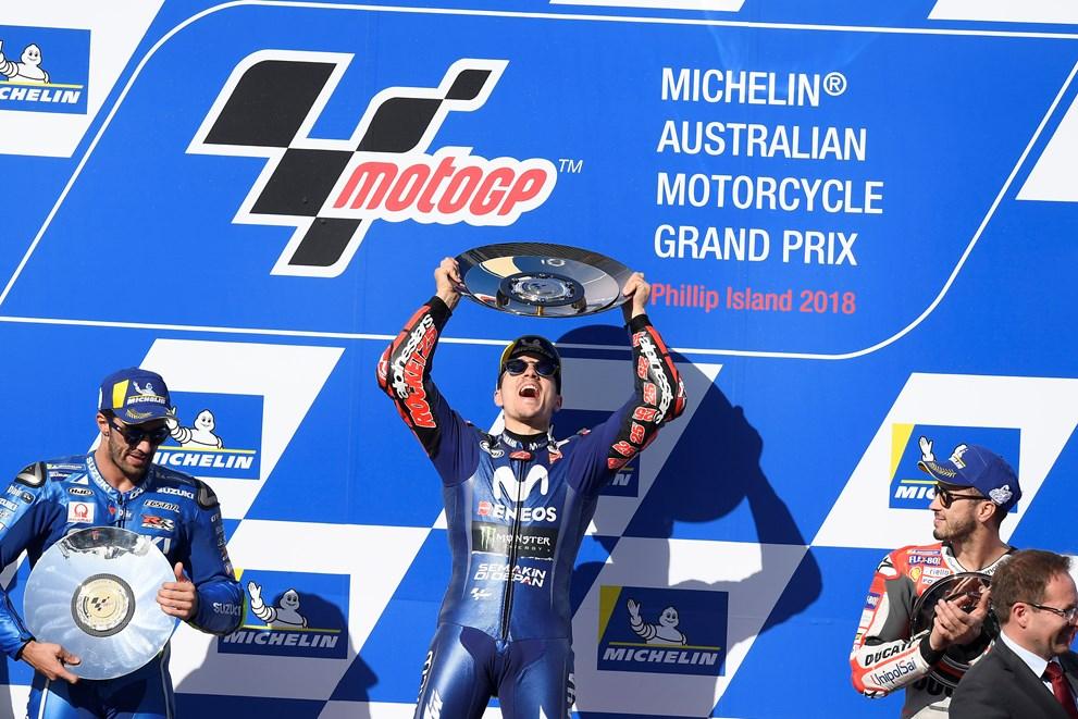Enfin la victoire pour un pilote Yamaha