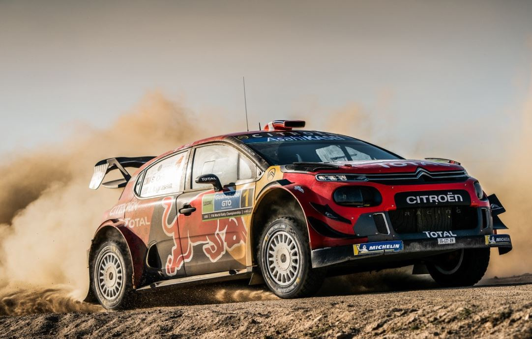 WRC : Victoire Ogier et Citroën au Mexique