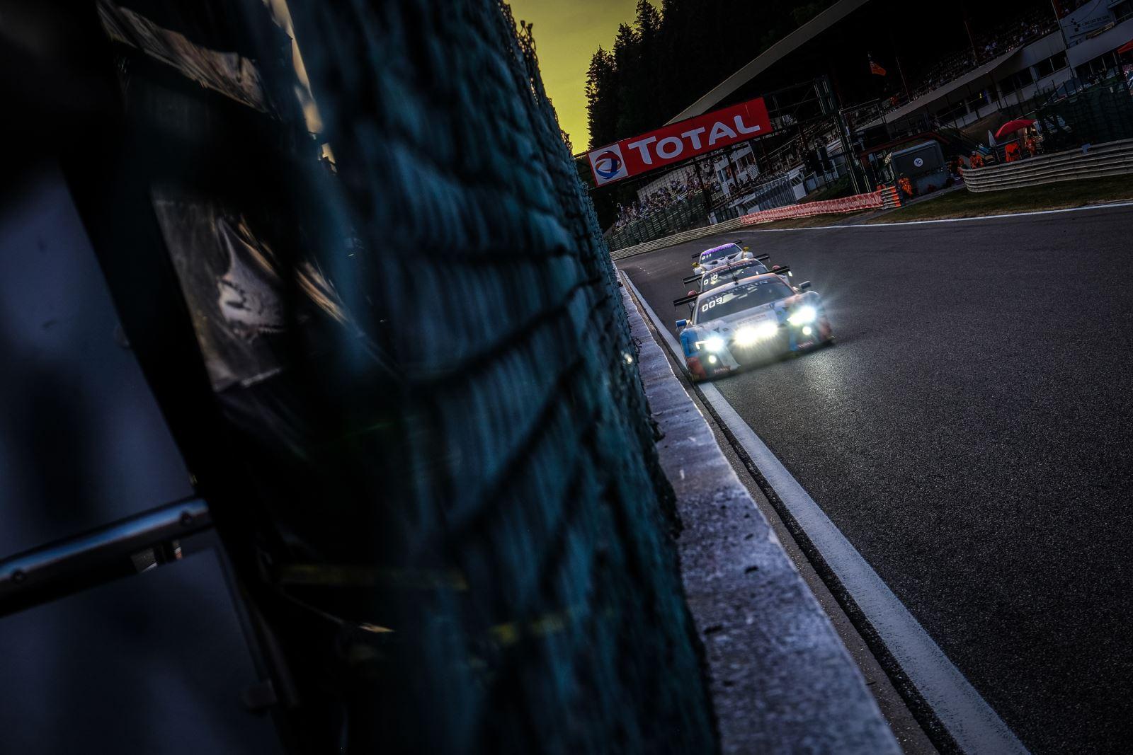 Les mythiques 24h de Spa-Francorchamps