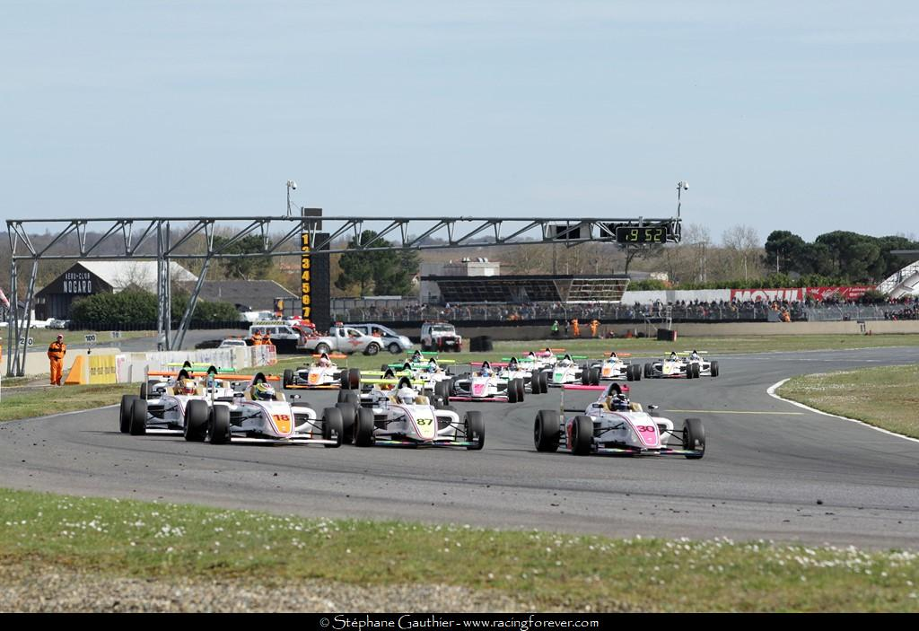 La F4, la première marche en sport-auto/Monoplace