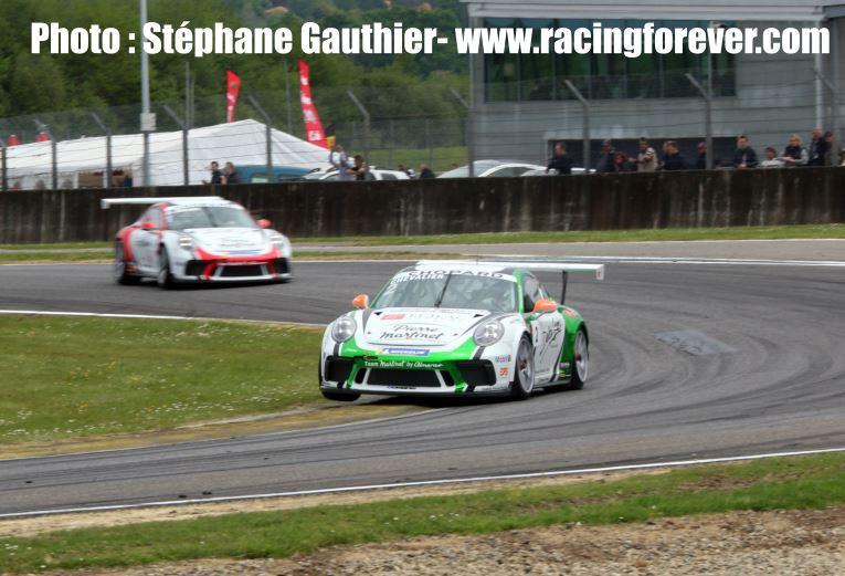 Il faut attaquer en Porsche Carrera Cup