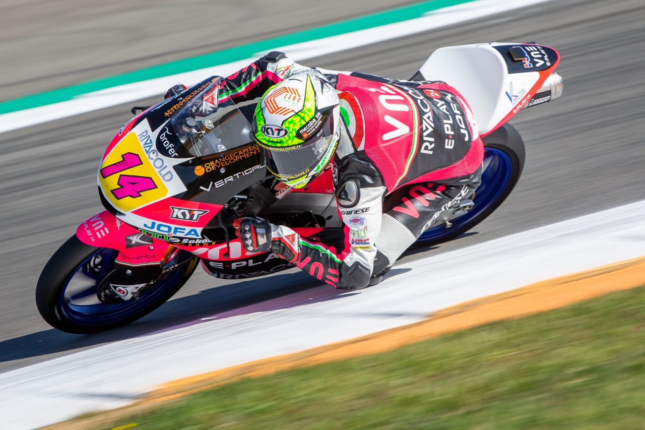 Victoire d'Arbolino (Photo Honda Pro Racing)