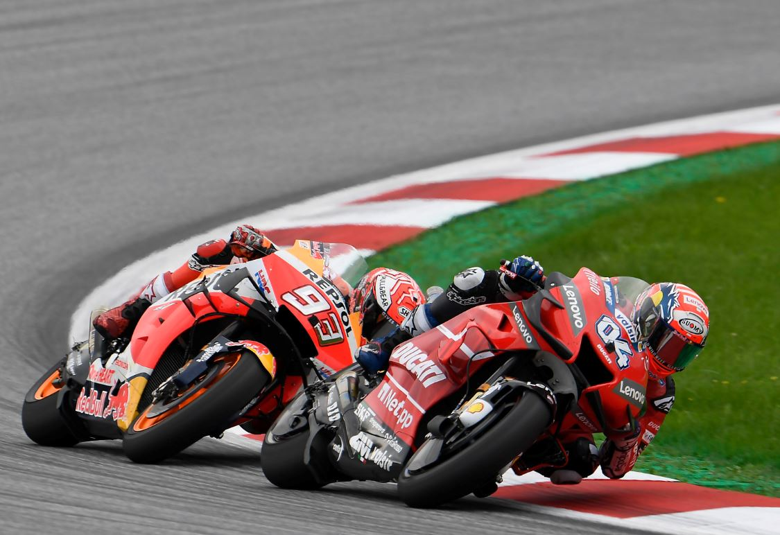 Un nouveau duel dantesque entre Marquez et Dovizioso ( Photo Gold & Goose/Red Bull Content Pool)