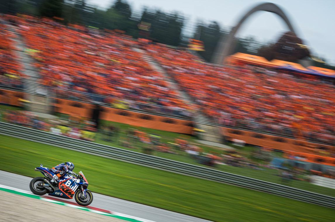 Miguel Oliveira obtient un très bon résultat pour KTM et Tech3 (Photo Philip Platzer)