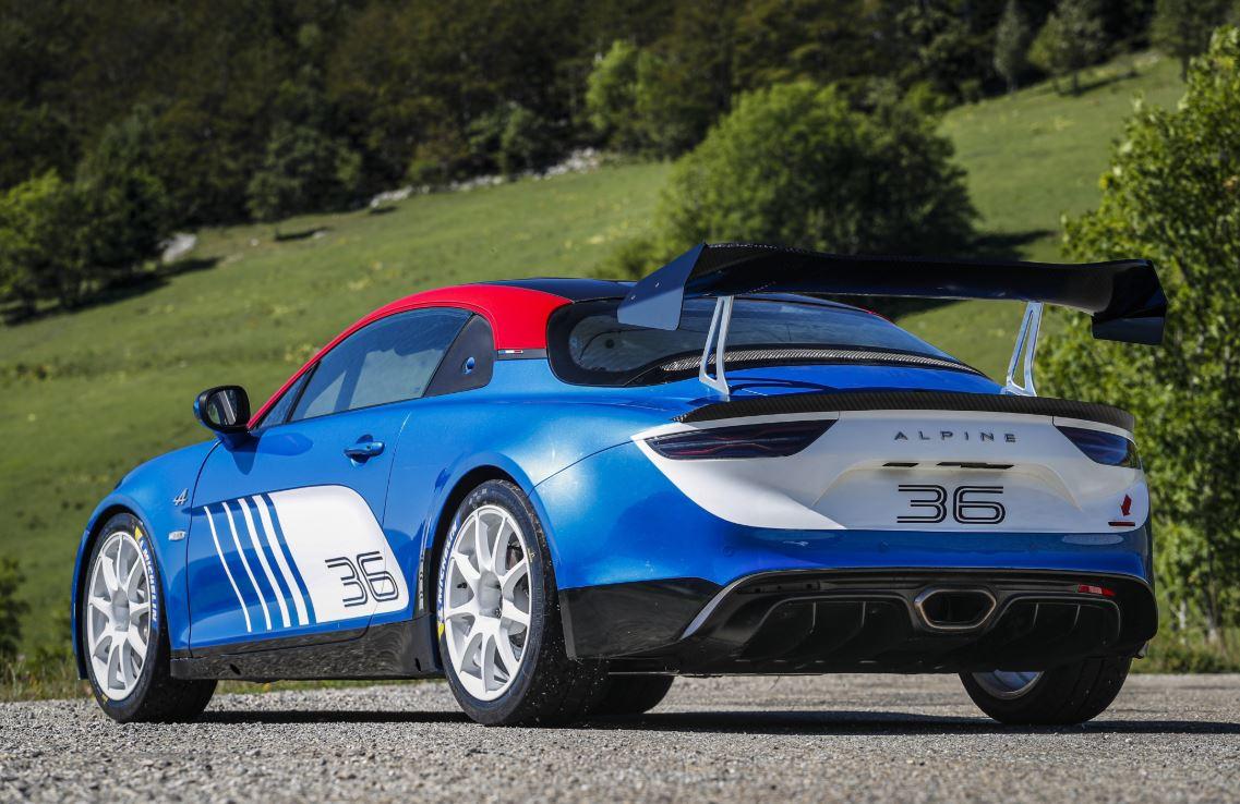 L'Alpine A110 Rally prête à entrer en scène