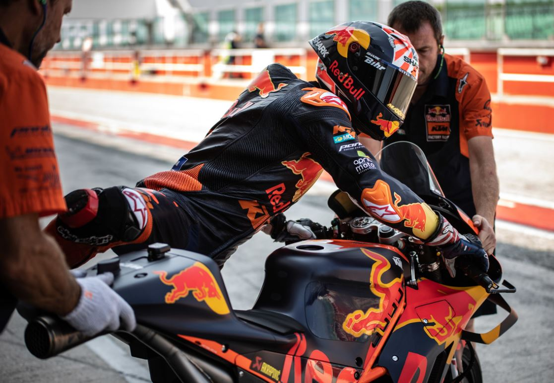Zarco n'enfourchera plus sa KTM en MotoGP (Photo Lukas Leitner)