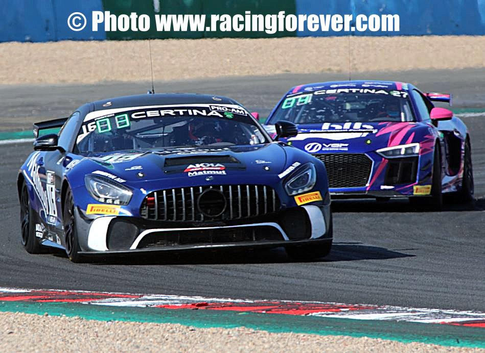 Mike Parisy au volant de la Mercedes AMG ca marche !