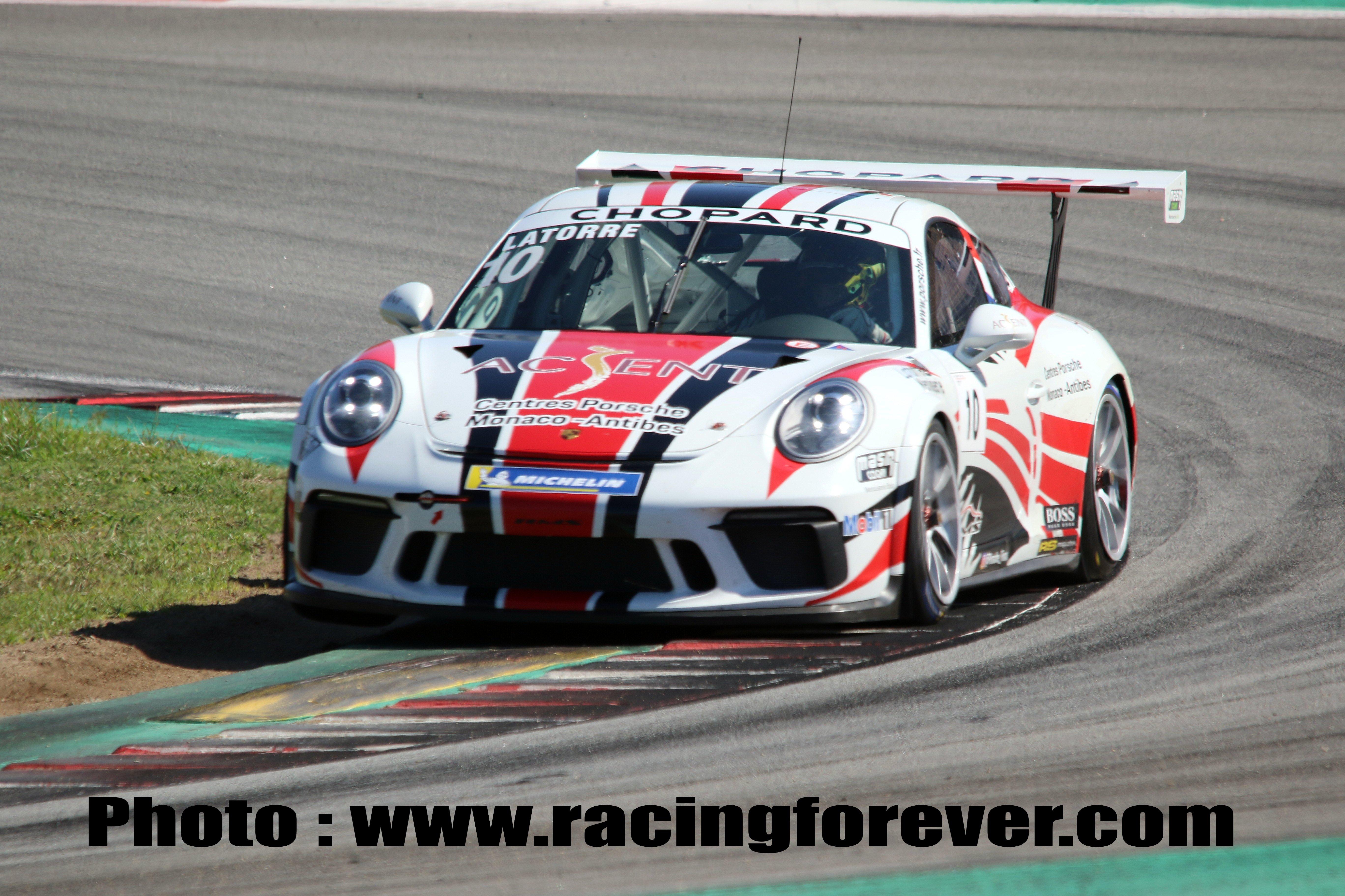 Florian Latorre remporte facilement la course 2