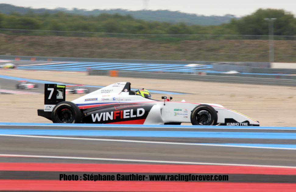 F4 FFSA : Paul Ricard 2019