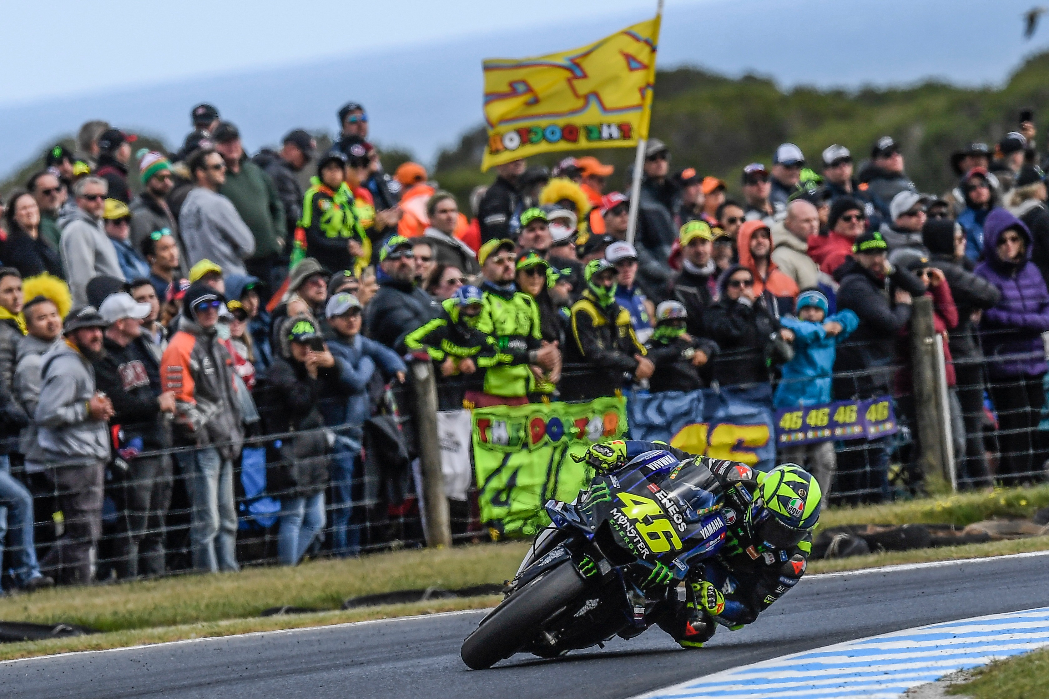 Pour son 400e Grand prix, Rossi a mené le début de course