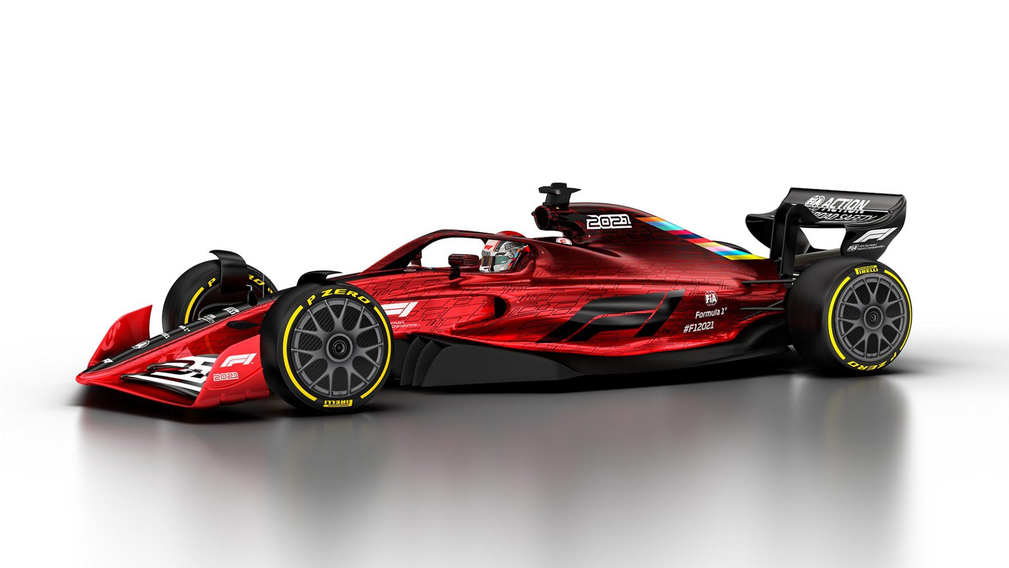 Le concept 2021 © FIA F1